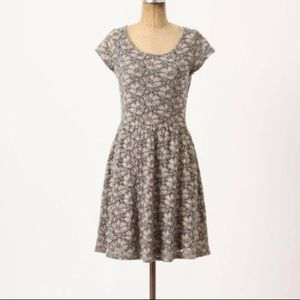 Anthropologie brushed Terra dress by Deletta
